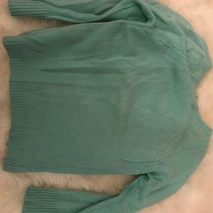 Autumn Cashmere Mint ZIP sweater